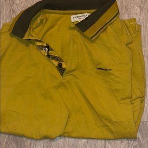 Burberry Men's Polo Dress Shirt